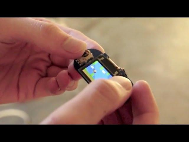 World's Smallest Gaming Console