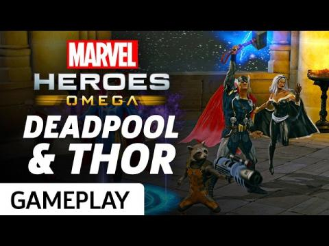 Marvel Heroes Omega Coming To PS4 And Xbox One - GS News Update