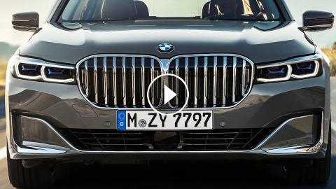 2020 Bmw 7 Series Interior Design Exterior Design Driving Scenes