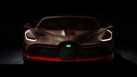 New 2019 Bugatti Divo Super Sport 8 0l W16 4 Turbocharger