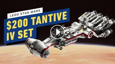 LEGO's $200 New Star Wars Set Is a Classic Ship From A New Hope