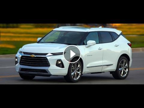 New 2019 Chevrolet Blazer Rs 36l V6 305 Horsepower Sport Suv