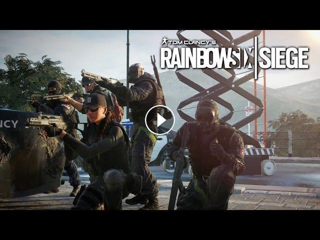 Tom Clancy's Rainbow Six Siege - Operators Gameplay Trailer