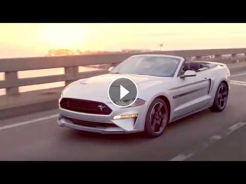 2019 Ford Mustang California Special video debut