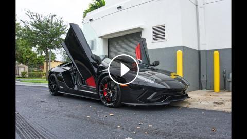 2018 Lamborghini Aventador S Start Up Amazing Sound Interior