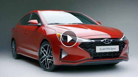 2020 Hyundai Elantra Sport Sedan Unveiled